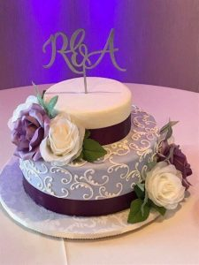 San Diego wedding dj Cake