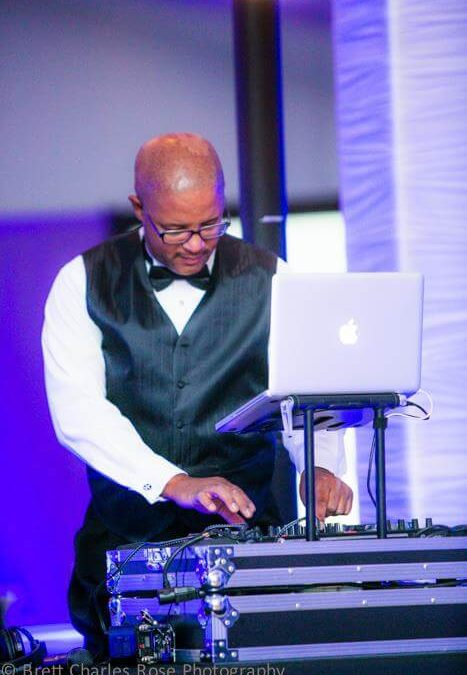 San Diego wedding DJ Jerry Beck - Becks Entertainment www.becksentertainment.com black DJs in San Diego