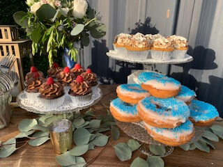 Dessert table with donuts - San Diego DJ Becks Entertainment