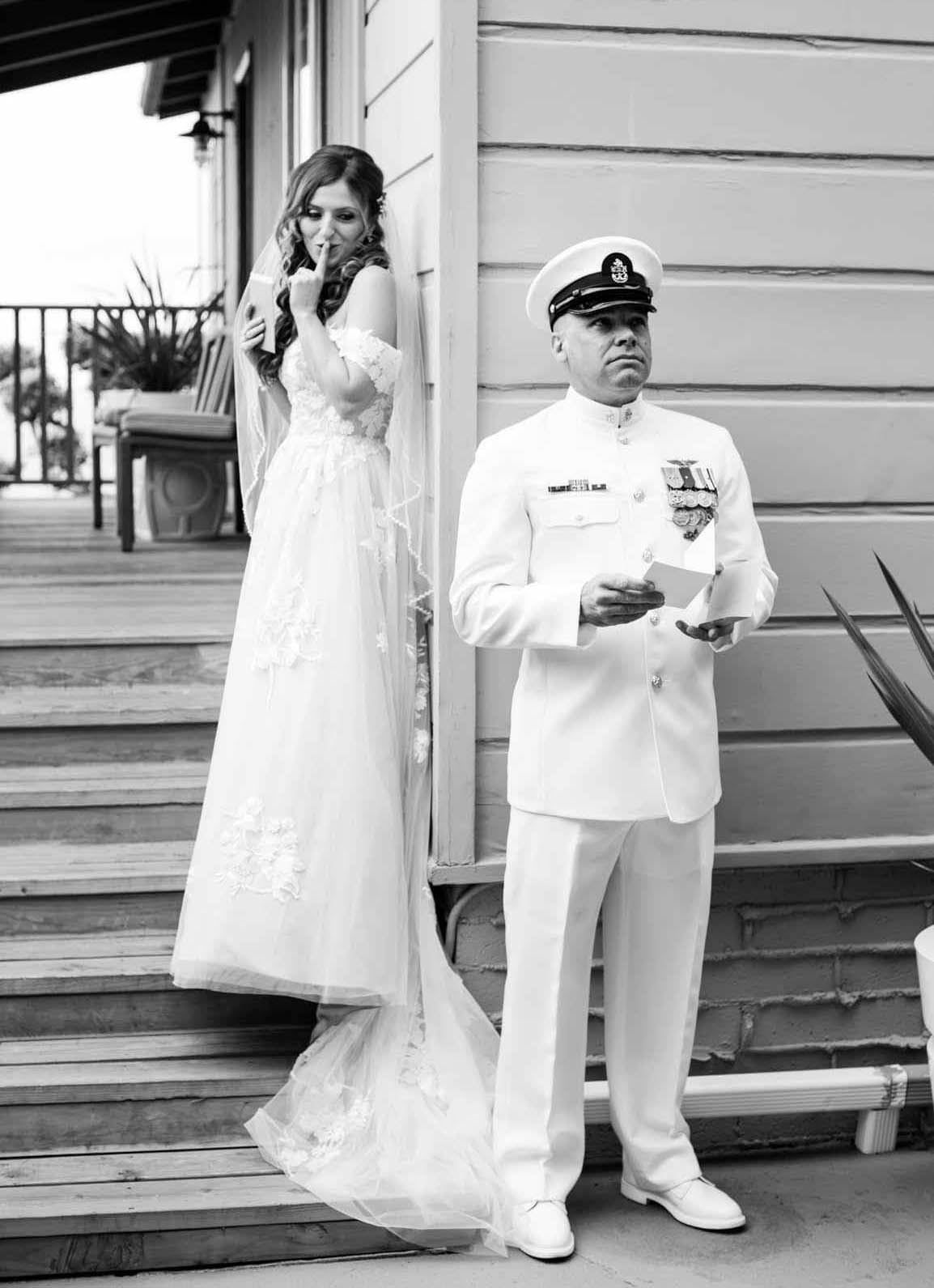 Professional wedding DJ military weddings