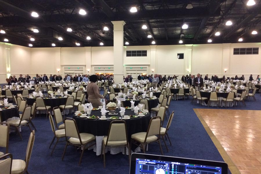 Corporate event convention center web